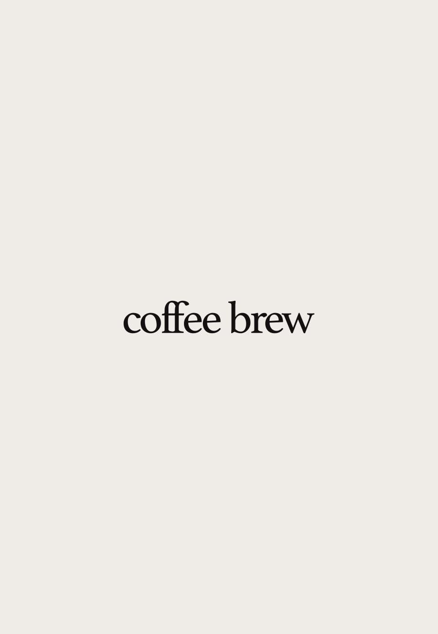 Coffee Brew咖啡袋包装设计