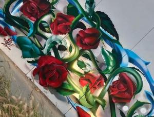 西班牙艺术家Ceser87用自己的名字创作的超写实街