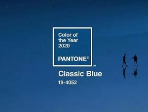 Pantone最新公布的2020年度色彩:经典蓝
