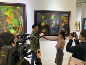 2019广州艺术博览会参展作品 《羔羊》震撼人心