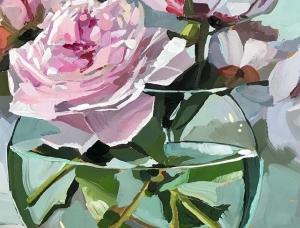 Teddi Parker精美的静物绘画作品