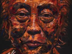 Lim Nam Hun极富表现力的肖像画