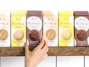 手工制作的饼干品牌Nina包装设计