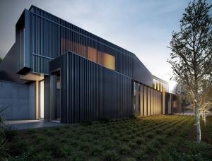 悉尼的建筑师Jeffrey Faranial华丽的建筑效果图和