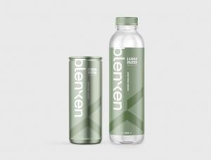 Blenxen柠檬水饮料包装设计