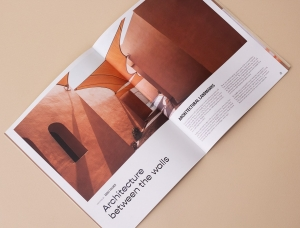中东旅游杂志Mirage版面设计