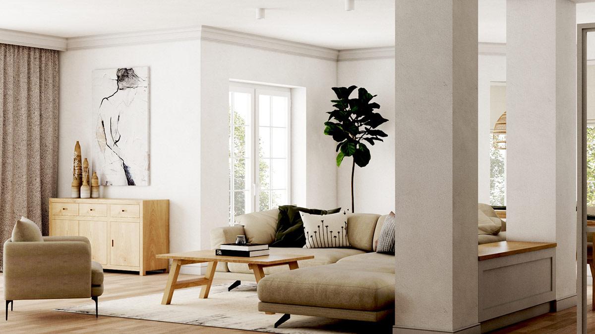 4个轻松悠闲的波西米亚风格家居设计