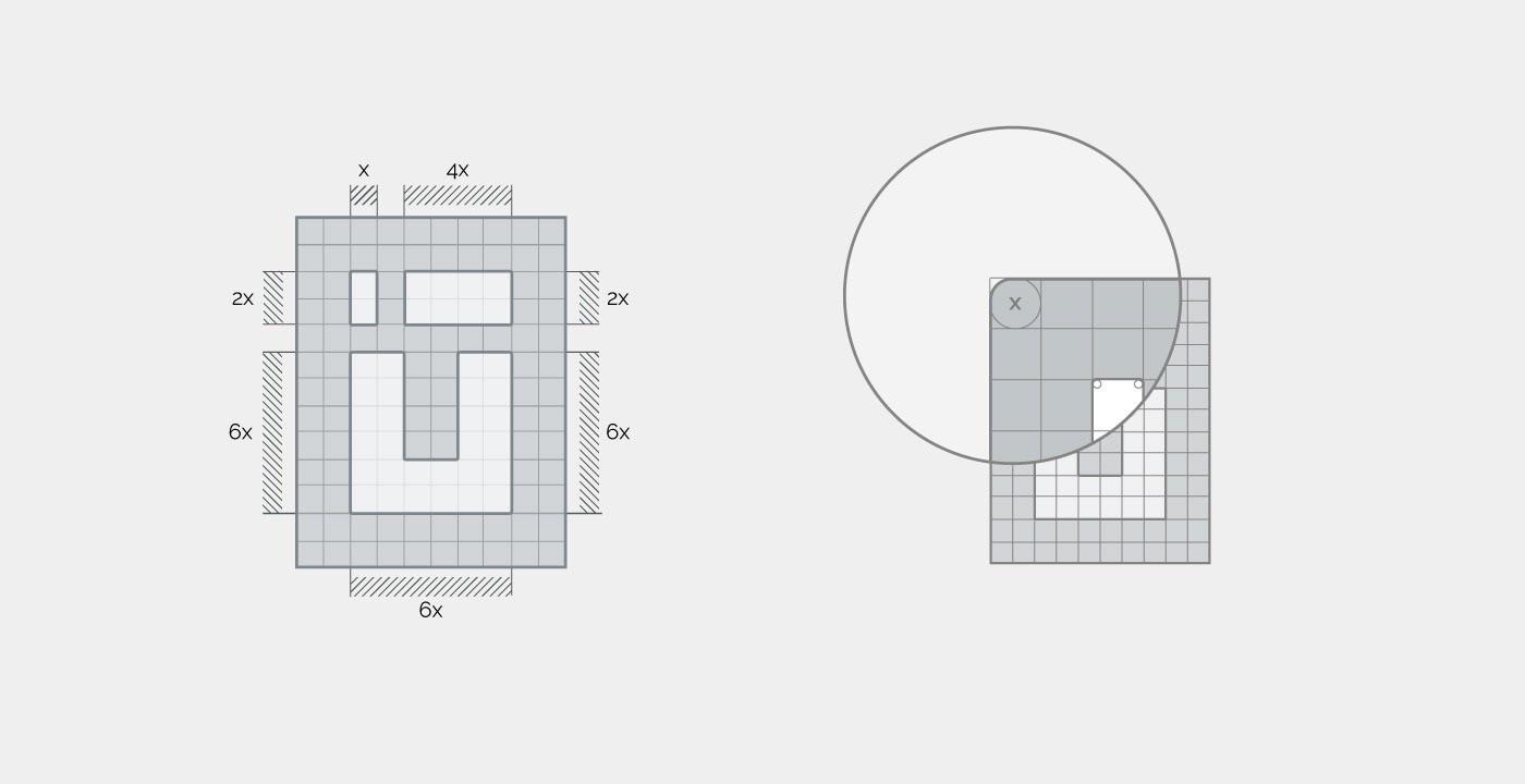 如何运用栅格系统设计一个Logo