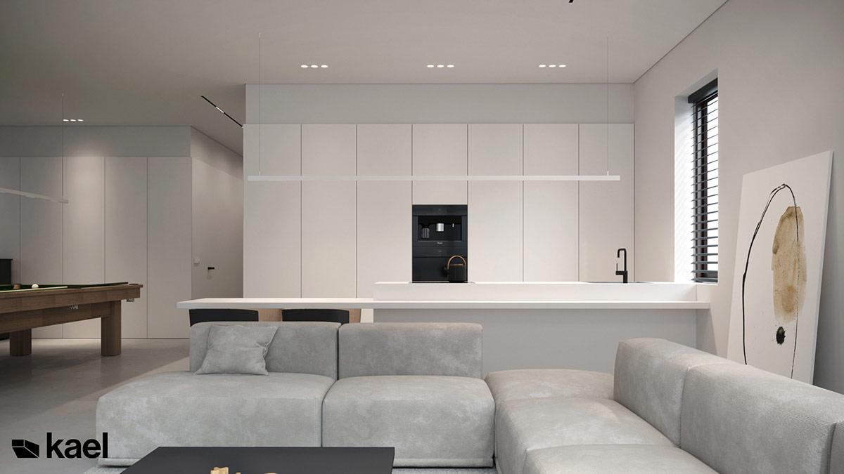 3款经典黑白简约风装修设计