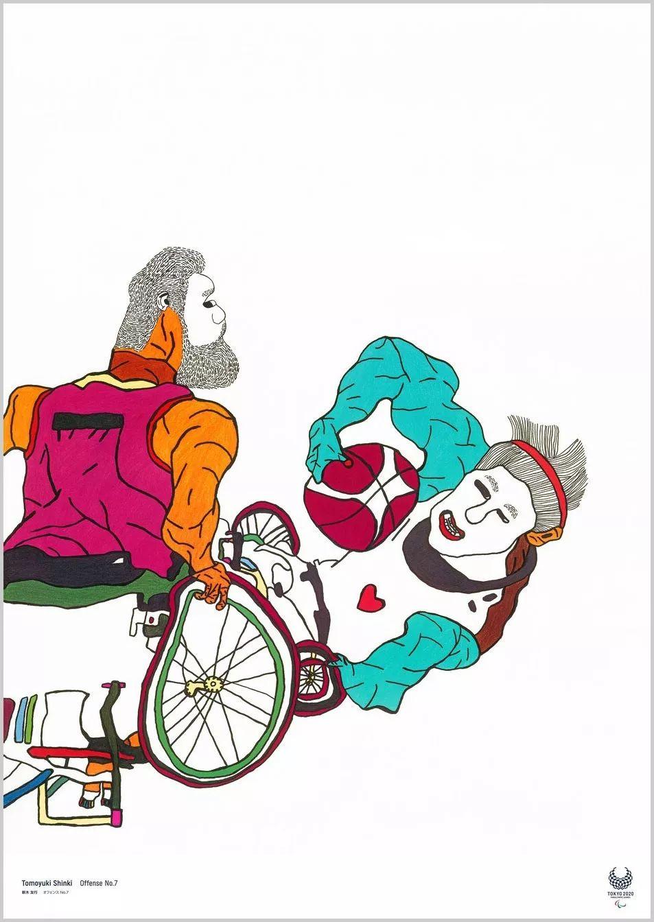 超豪华创作阵容:2020东京奥运艺术海报设计
