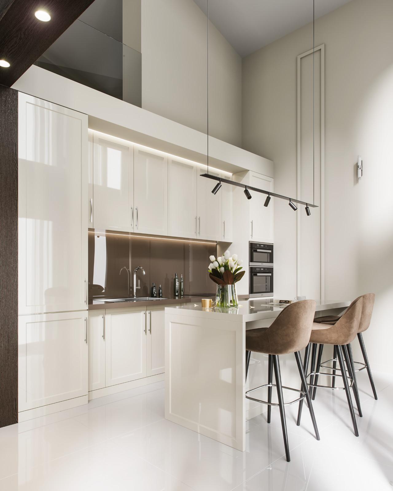 Soffit Interiors:精于细节的简约美宅