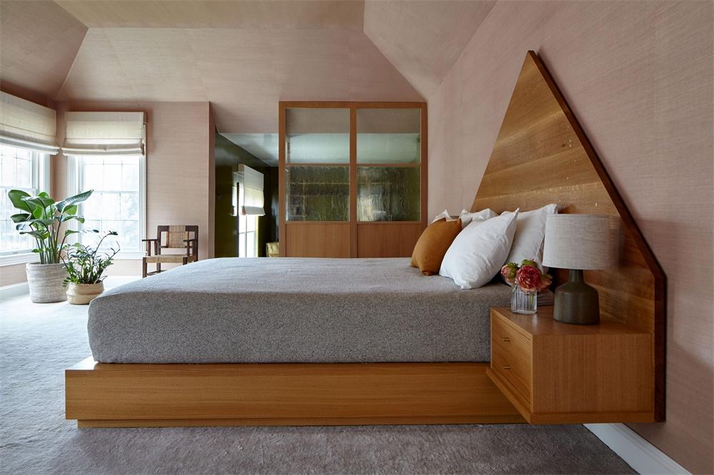 纽约Sleepy Hollow时尚复古的住宅设计