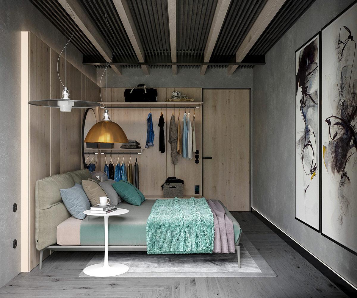 3个工业风格的现代住宅设计