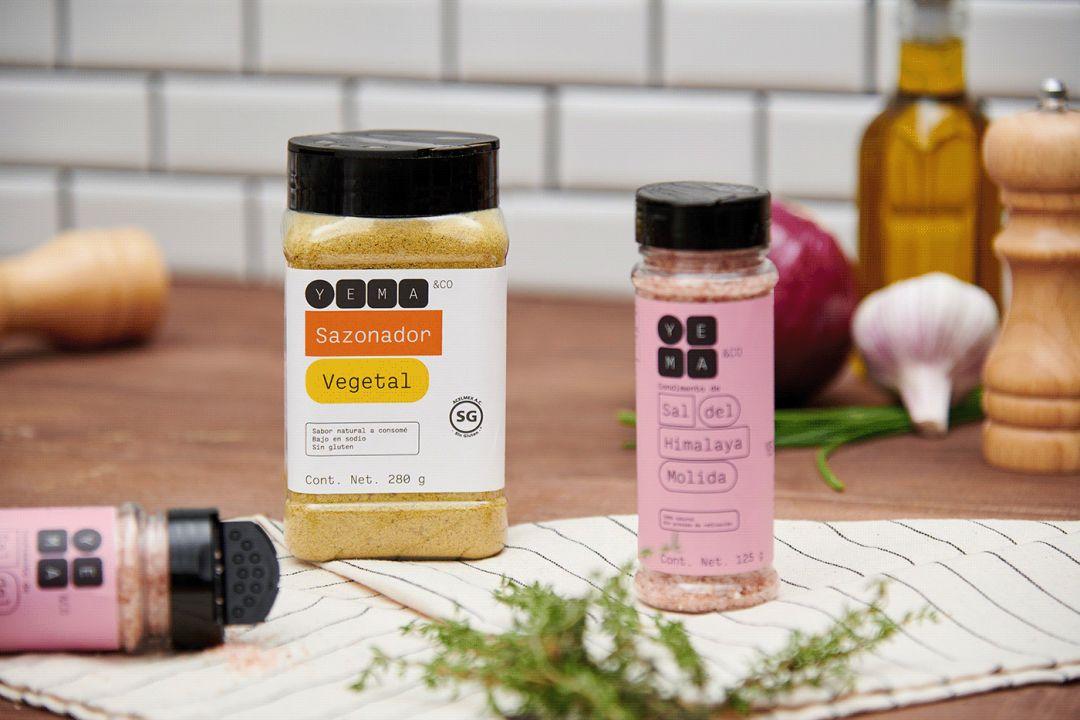 食品和日用品公司YEMA品牌视觉设计