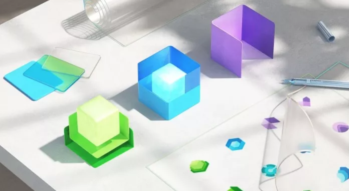 微绵软重行设计了超越100个其运用以次图标注