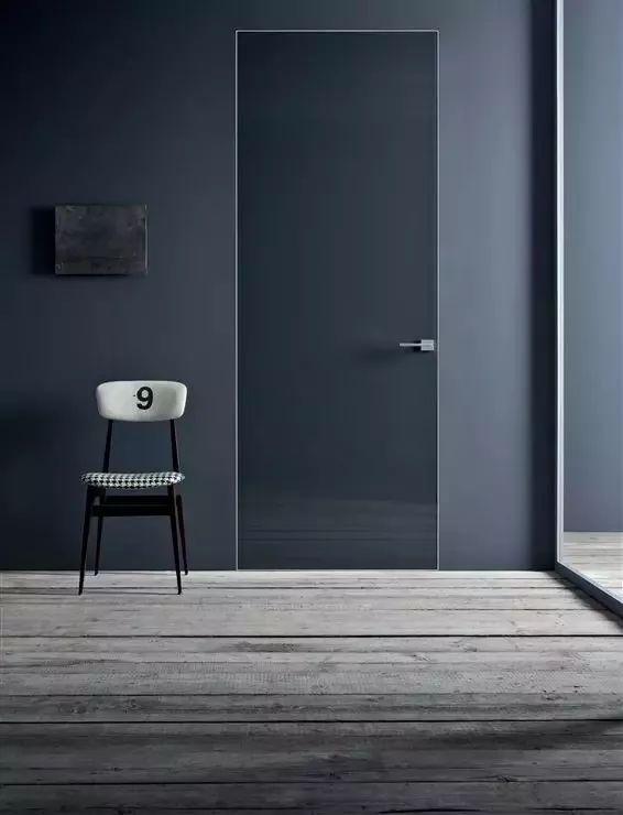 感觉不到门的存在! 各种房间隐形门设计