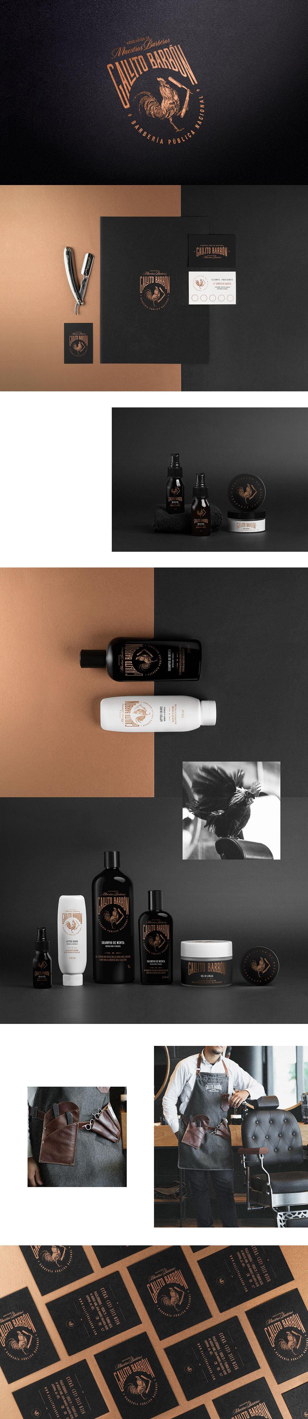 30个理发店品牌视觉设计作品集