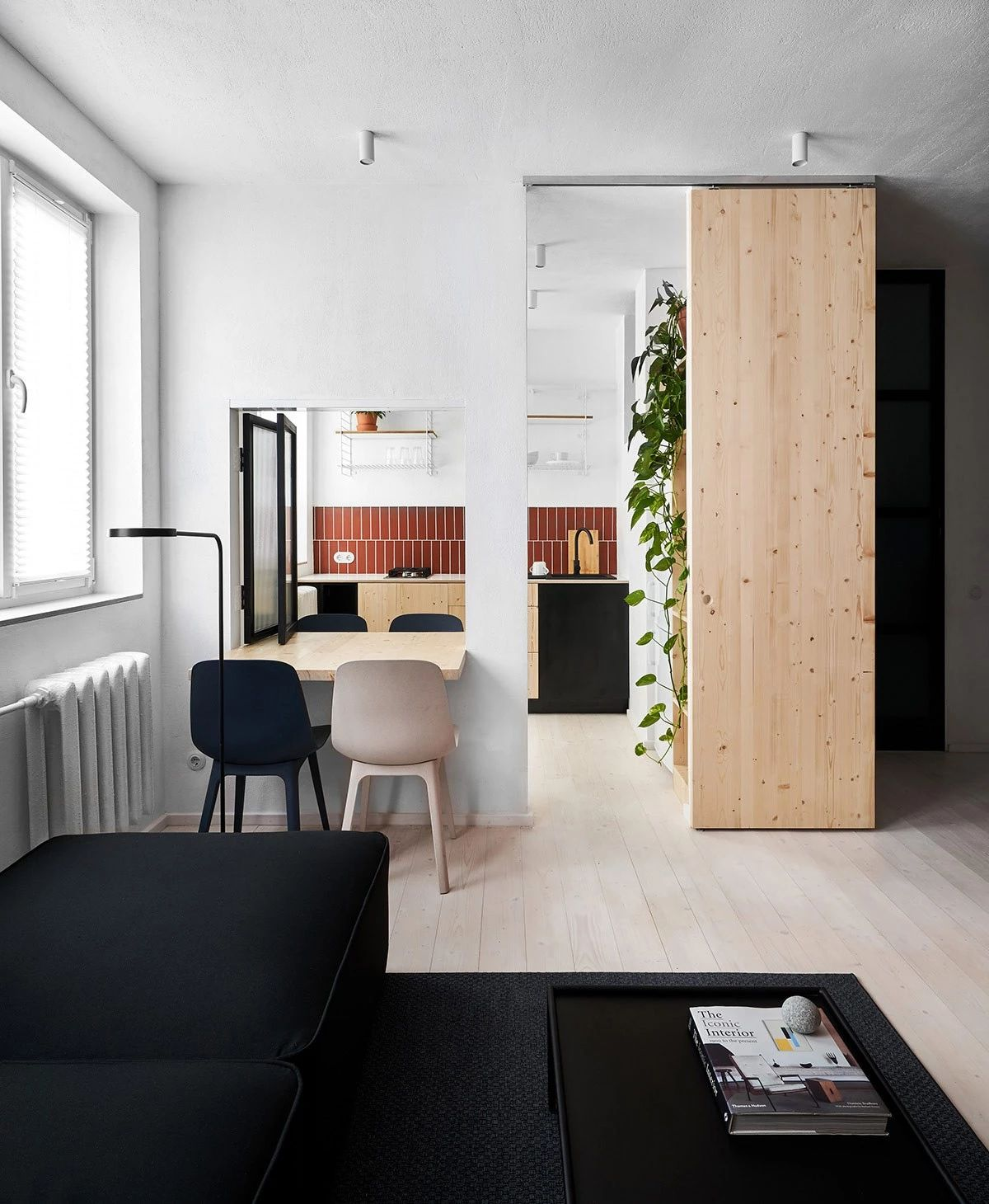 2间35平方米北欧风单身小公寓设计