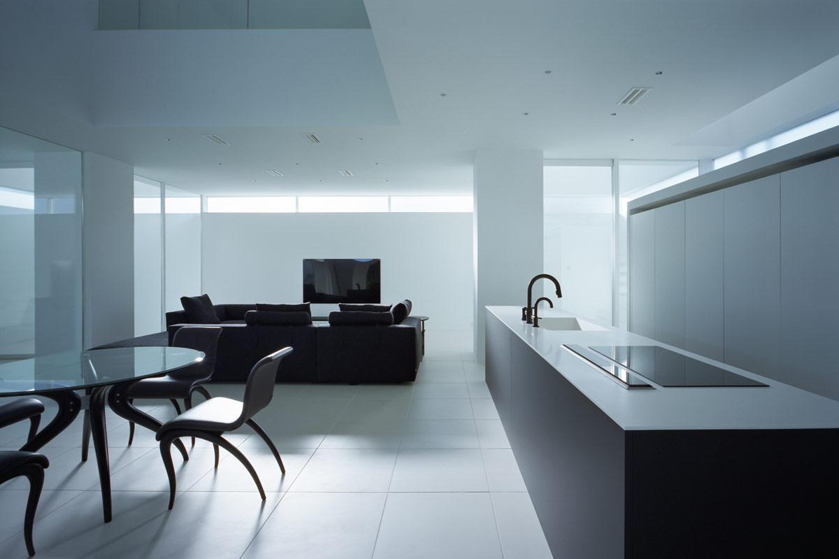 藤原室作品:清新极简日本高松住宅设计