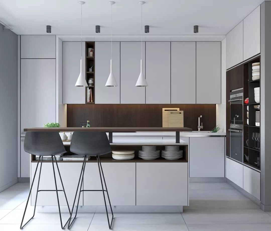 50个风格各异的精美厨房设计