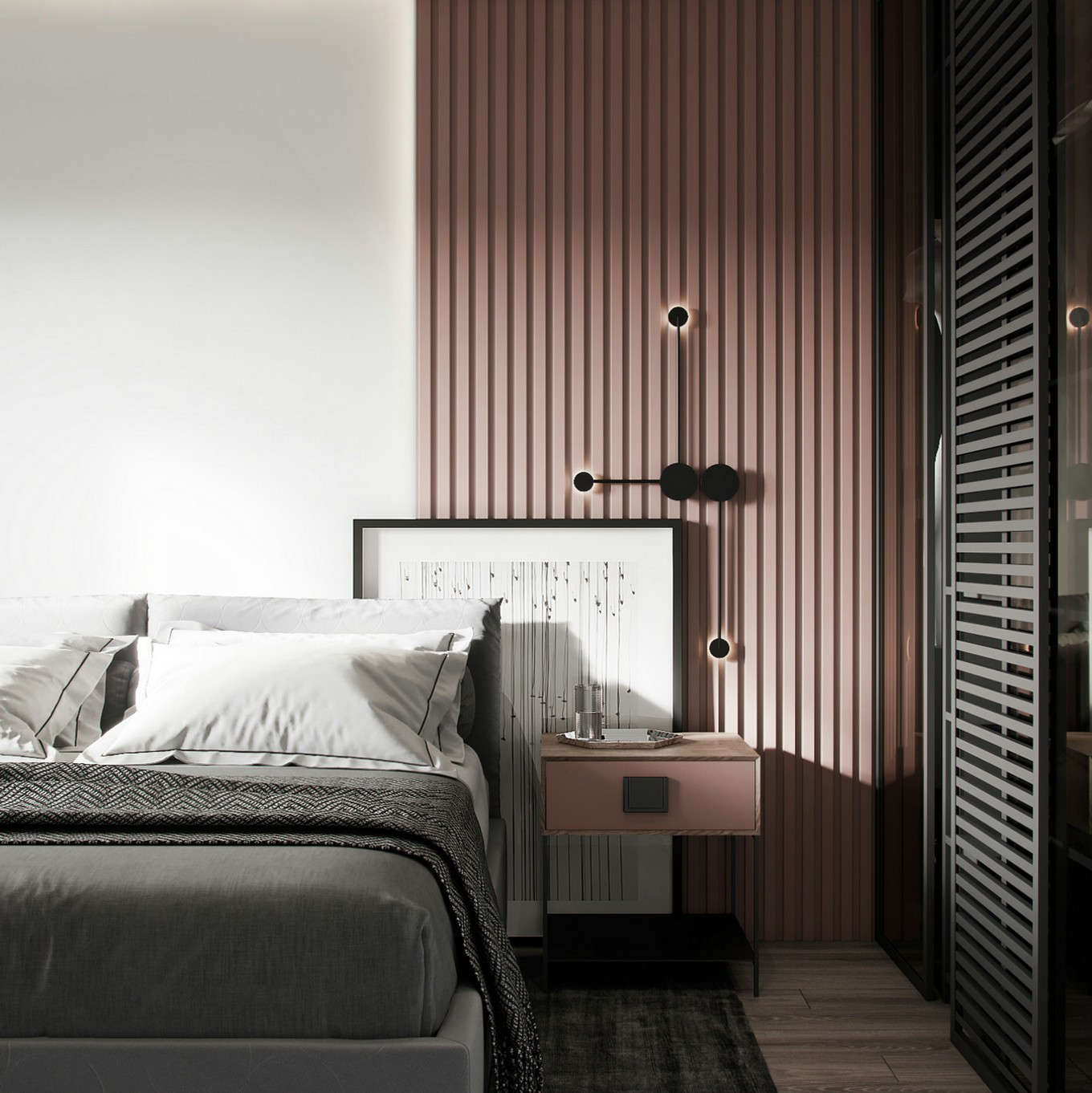 文艺感的生活气息 清新优雅的北欧风家居设计
