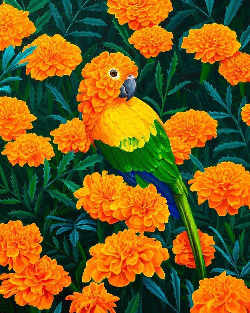 Jon Ching惊艳的超现实风格的动物肖像画