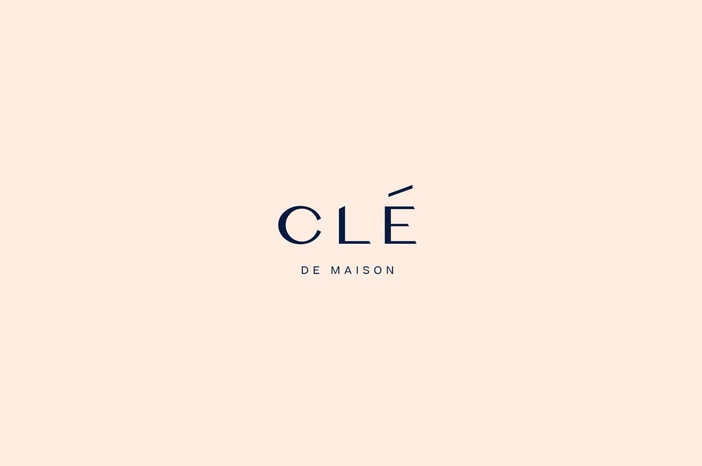 Clé de Maison室内设计工作室品牌形象设计