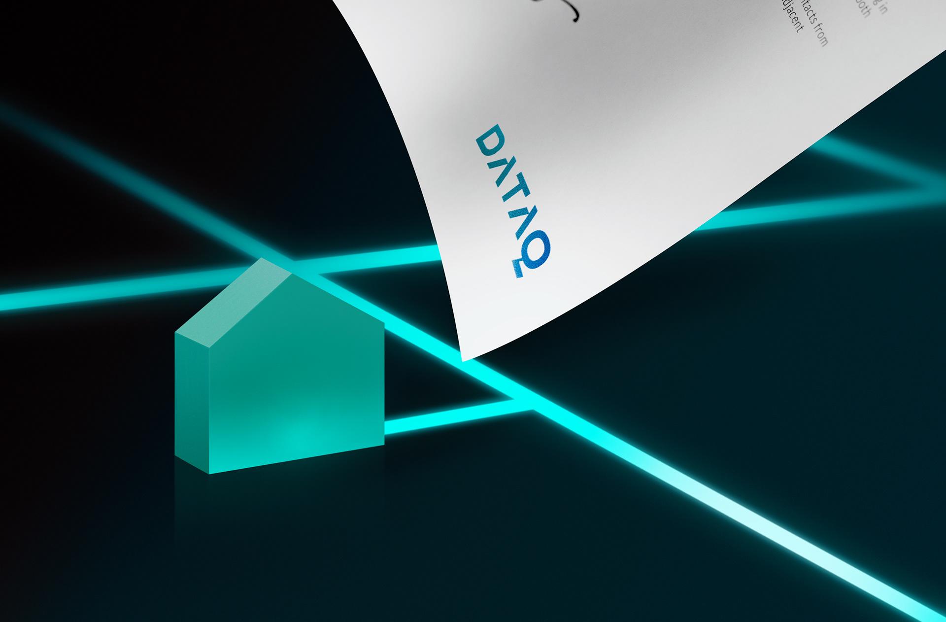 数据分析平台DATAQ品牌形象设计