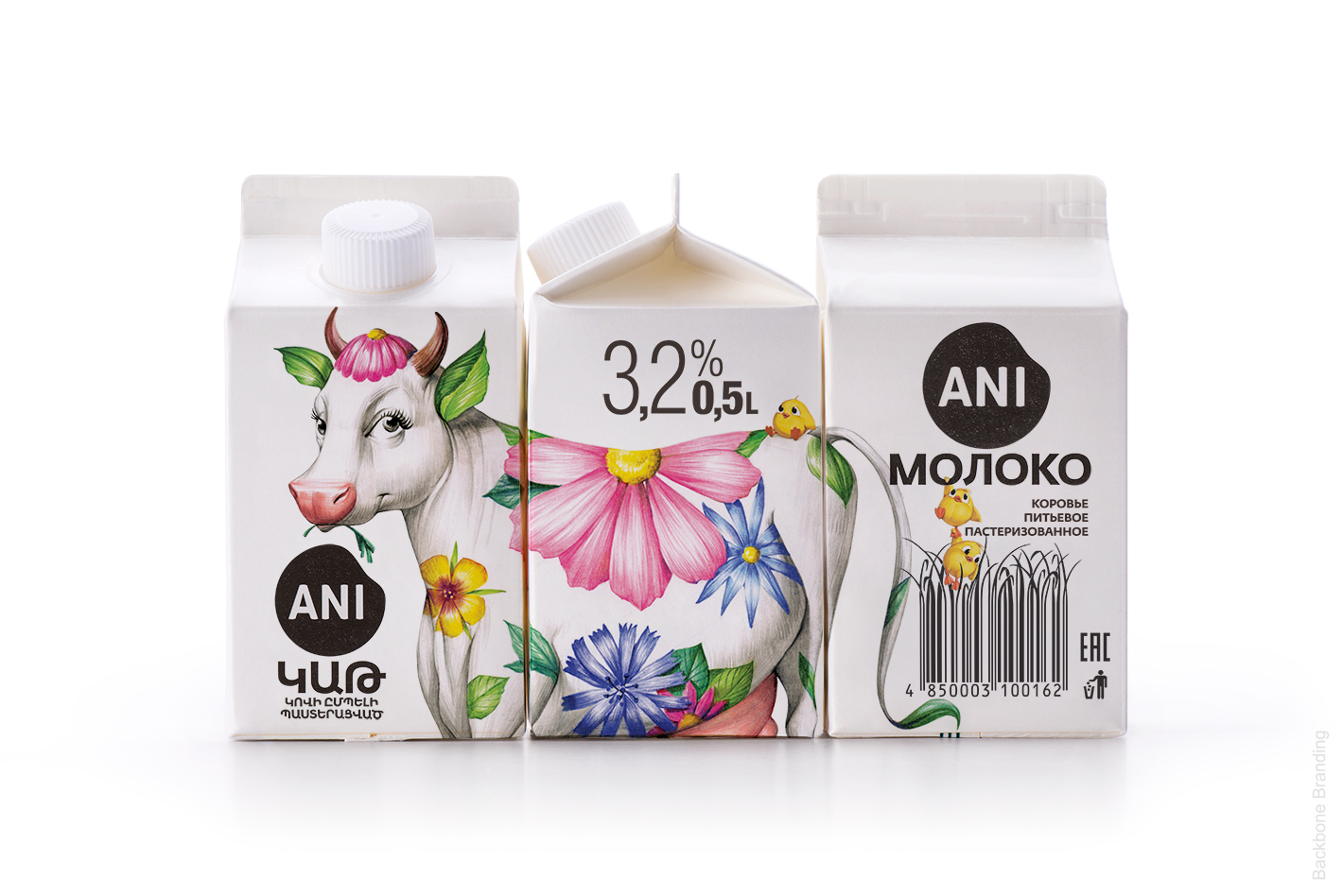 Ani乳制品包装设计
