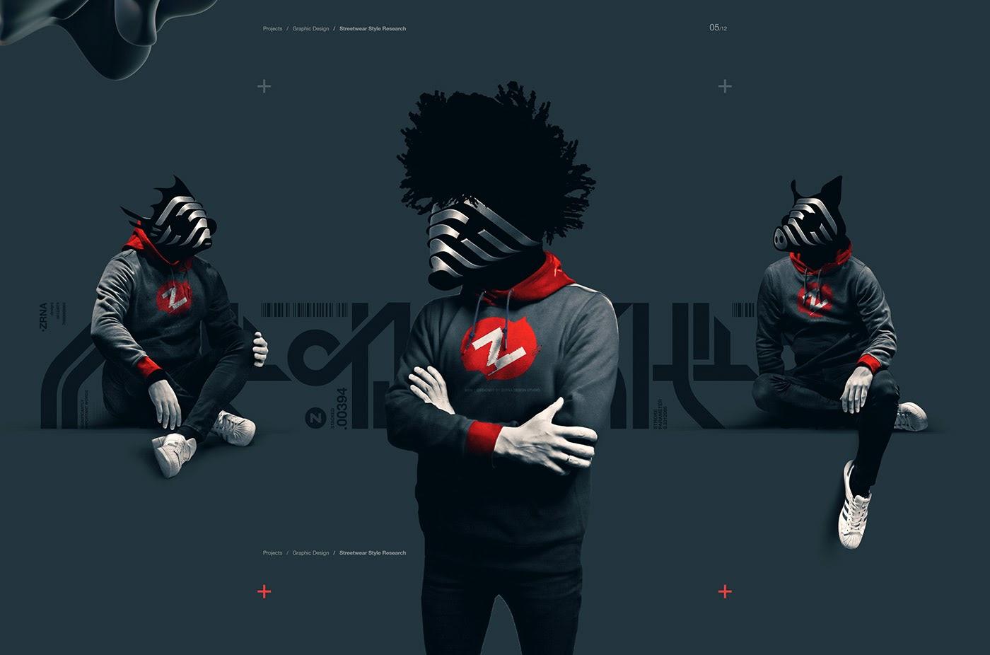 Pavel Zertsikel精美的数字艺术和3D字体设计