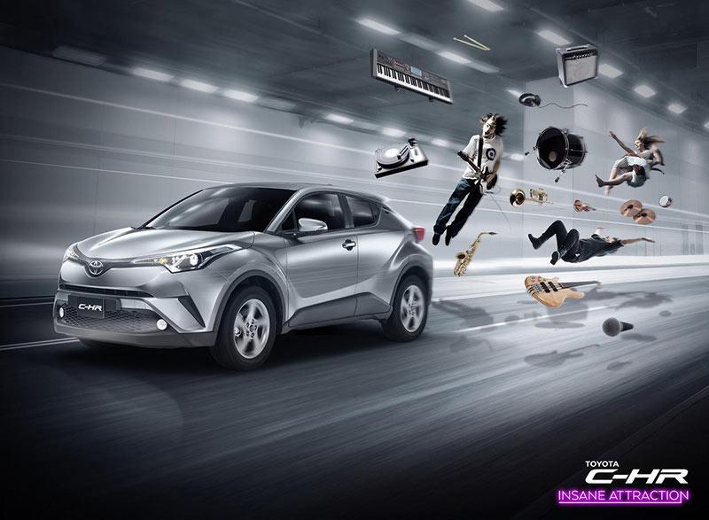 Toyota丰田汽车创意平面广告设计