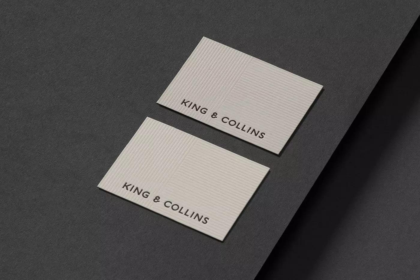 律师事务所King&Collins品牌视觉设计