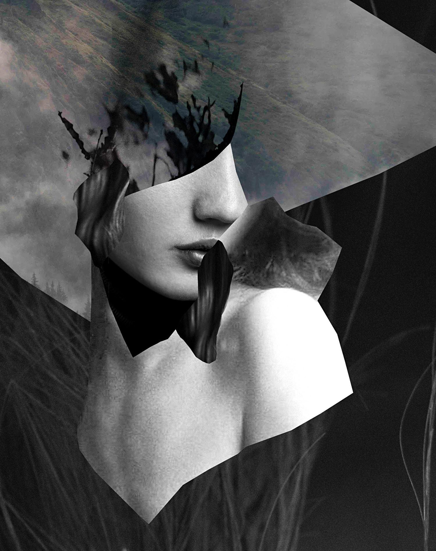 摄影元素与绘画的结合!Stefan Gunnesch拼贴艺术作品
