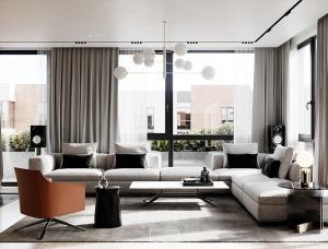 2个舒适优雅的现代公寓设计