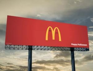 设计极简又有创意 麦当劳创意广告欣赏