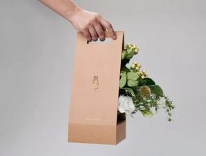 优雅高贵:鲜花店品牌Villa Des Fleurs视觉形象设计