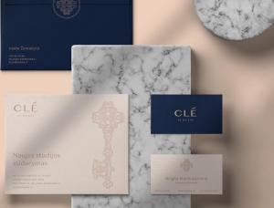 Clé de Maison室內設計工作室品牌形象設計