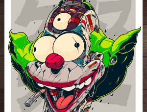 MechaSoul:Clogtwo的流行文化插画设计