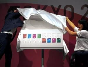 东京2020年奥运会和残奥会门票设计亮相