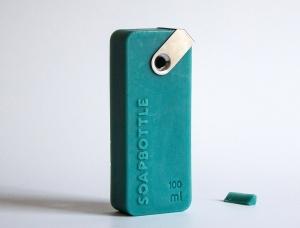 环保新概念!香皂化身沐浴品容器 简约包装无垃圾