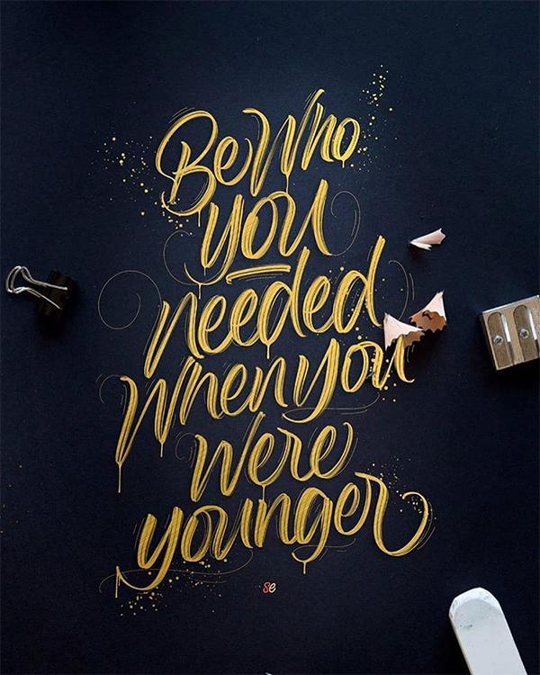 30款国外创意手绘字体设计