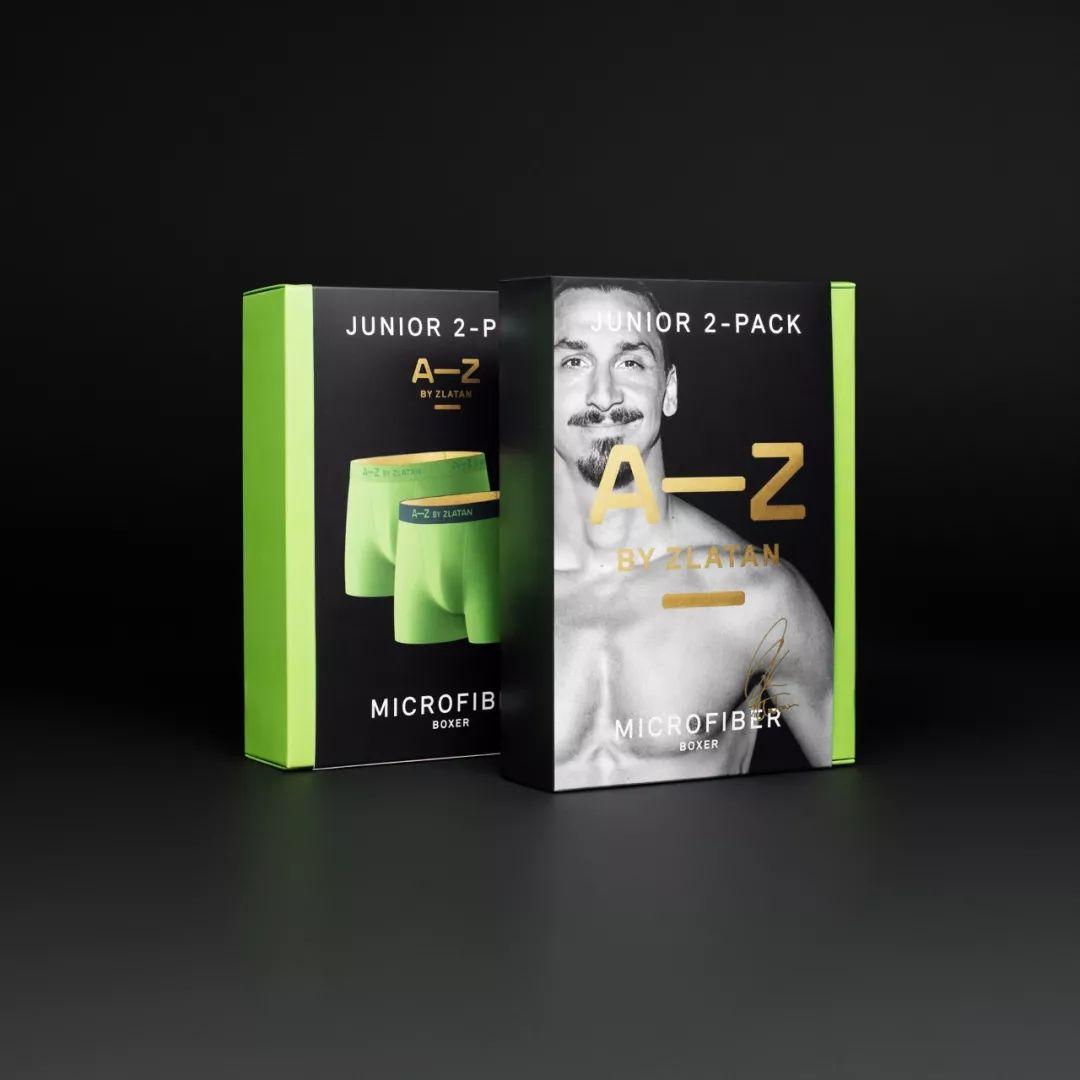 A-Z BY ZLATAN内衣包装设计