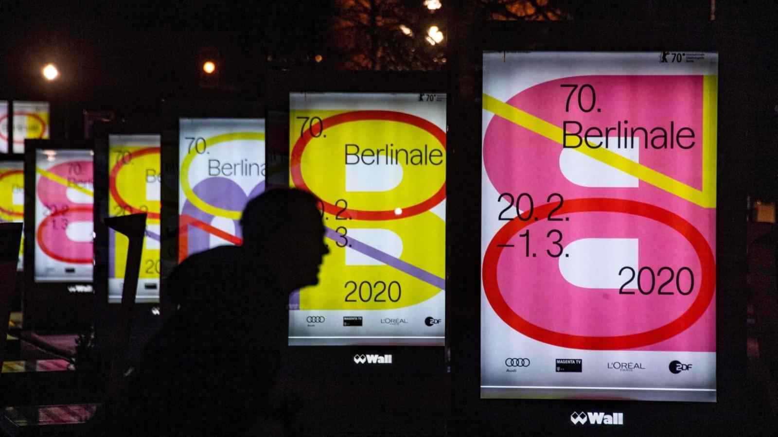 2020年第七十届柏林国际电影节主视觉海报设计