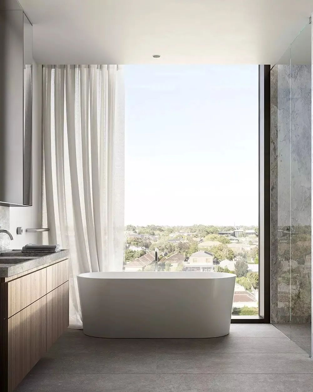 当代美学和细节设计:The International豪宅设计
