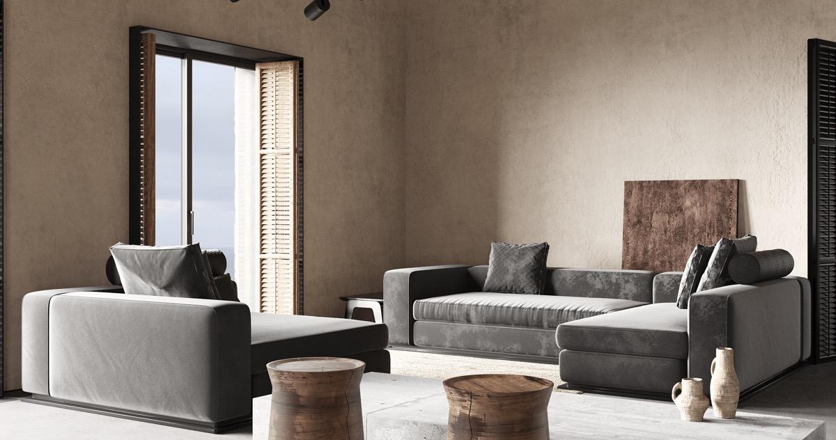 散发乡村气息和别致的现代魅力 希腊乡村风地中海别墅