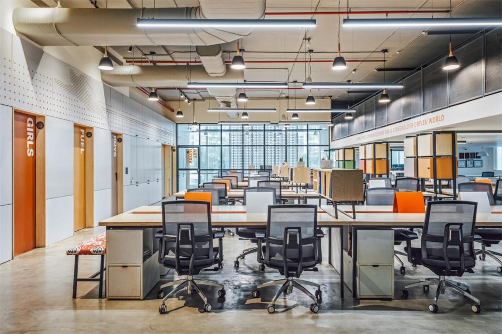 印度通信咨询公司AICL现代风格办公室