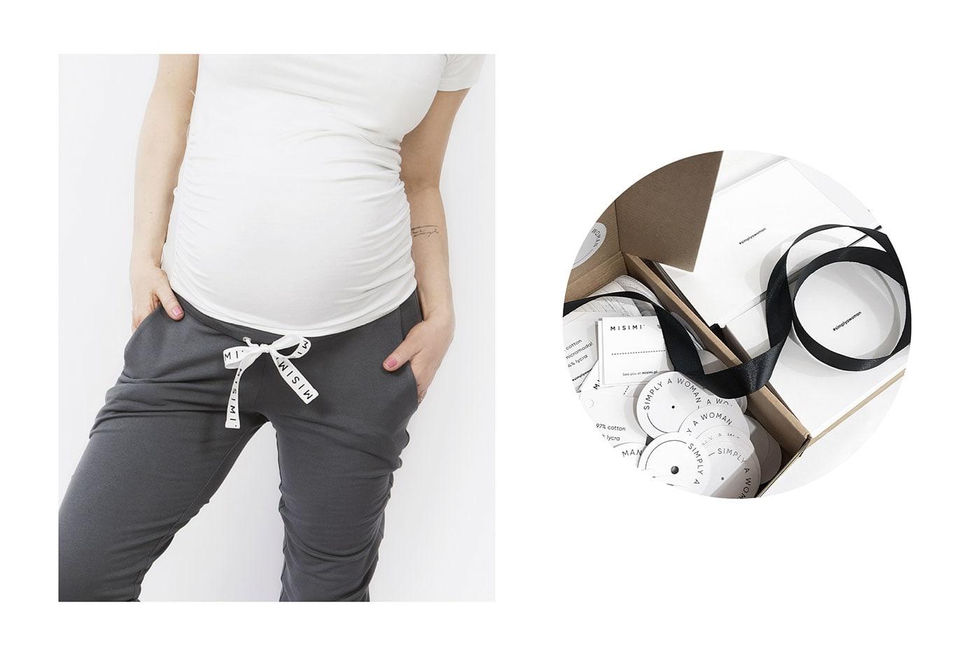 极简精致 孕妇服装品牌Misimi视觉形象设计