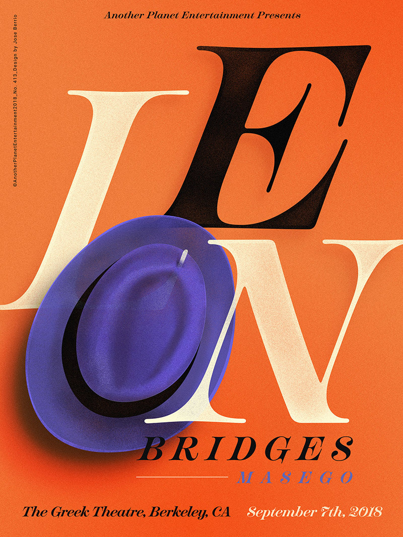 Jose Berrio创意演出海报设计