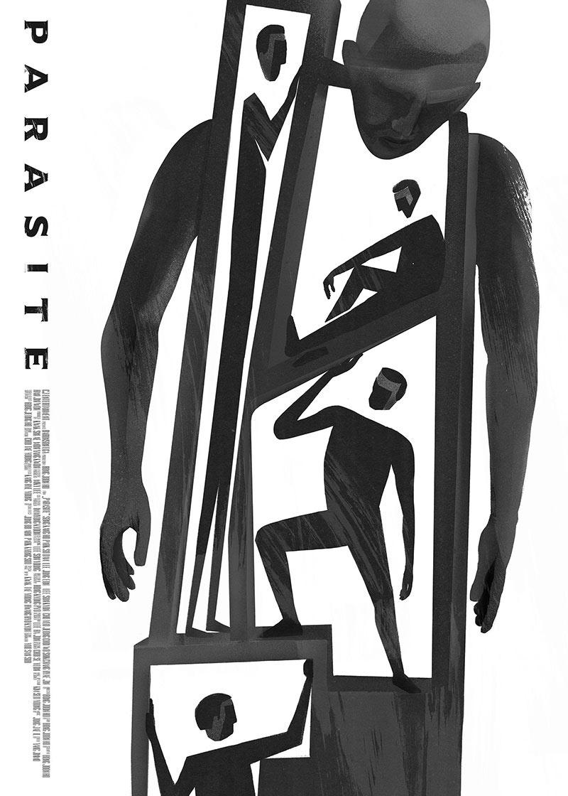 电影海报欣赏:寄生虫
