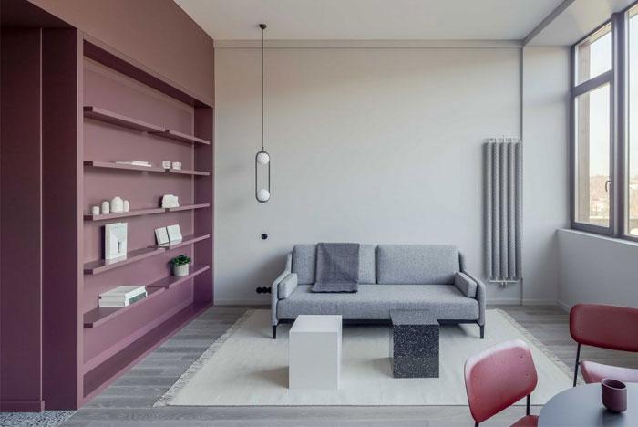 清新简约的37平米迷你小公寓